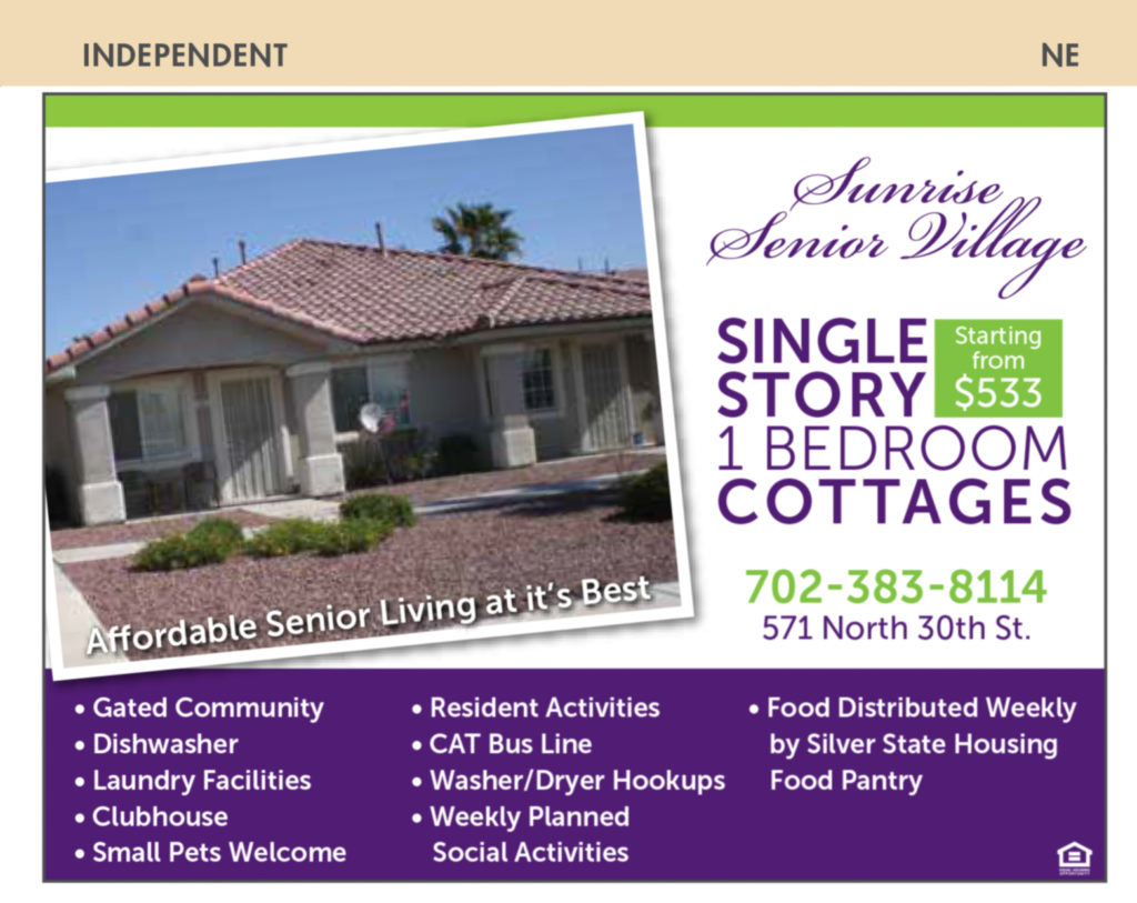 apartments and manufactured homes nevada senior guide