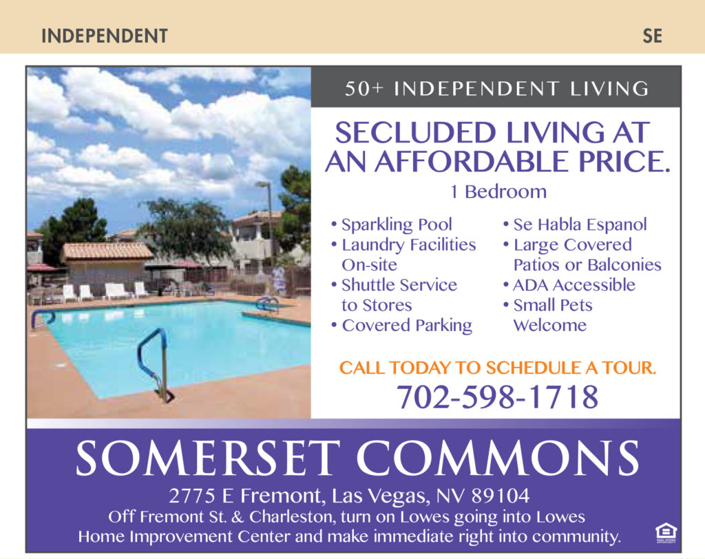 Nevada Senior Guide Somerset Commons