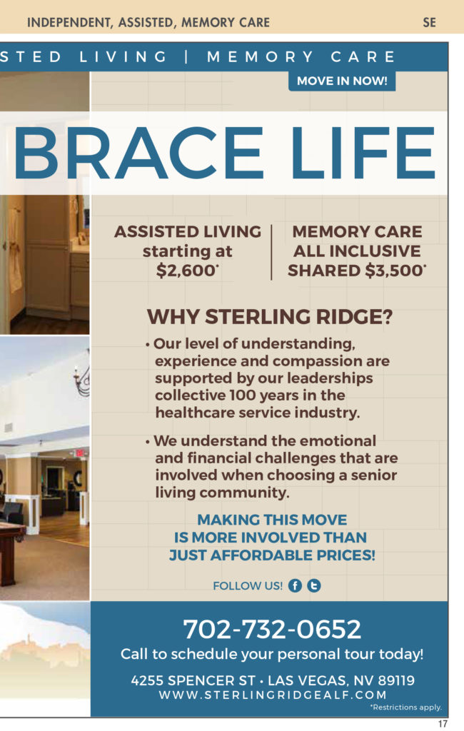 Activities nevada senior guide the staff at sterling ridge has been individually selected based on prior experience training and their authentic desire to be of service to our residents fandeluxe Choice Image