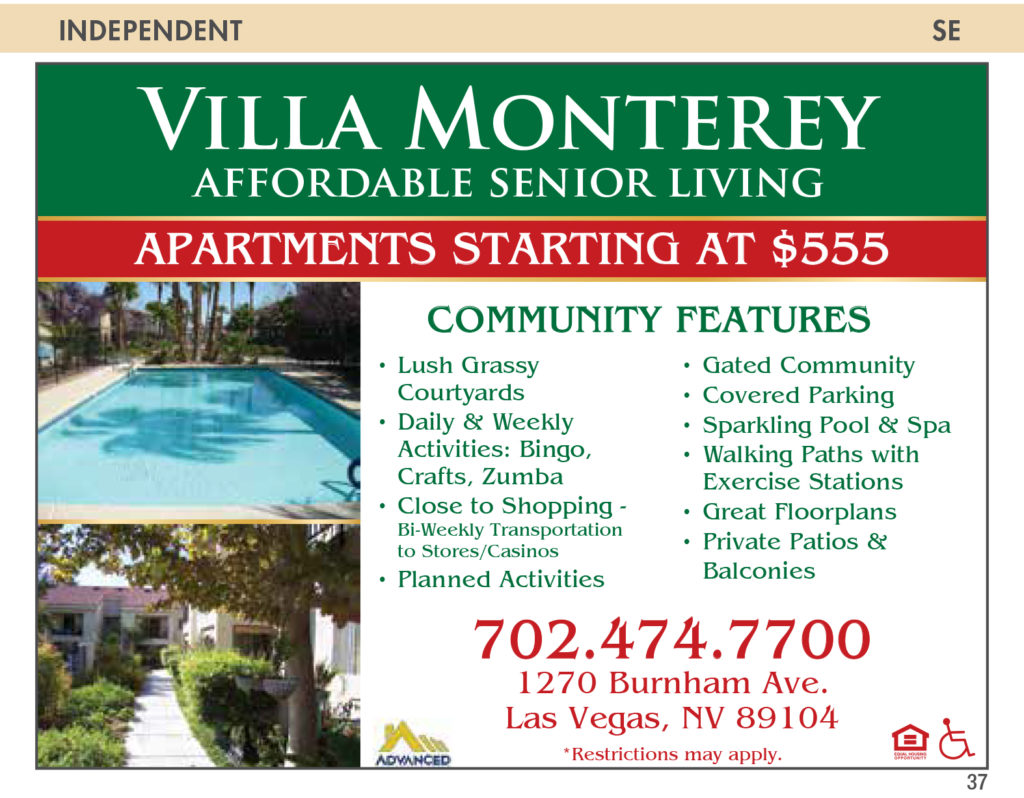 Villa Monterey – Nevada Senior Guide