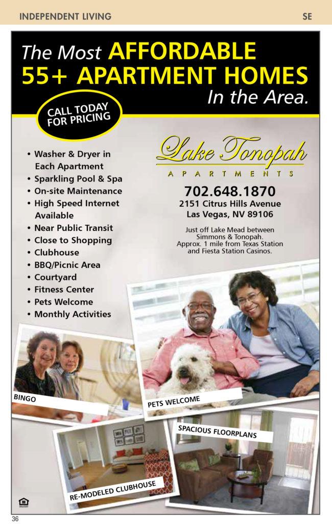 Nevada-Senior-Guide Lake Tonopah Apartments : Nevada Senior