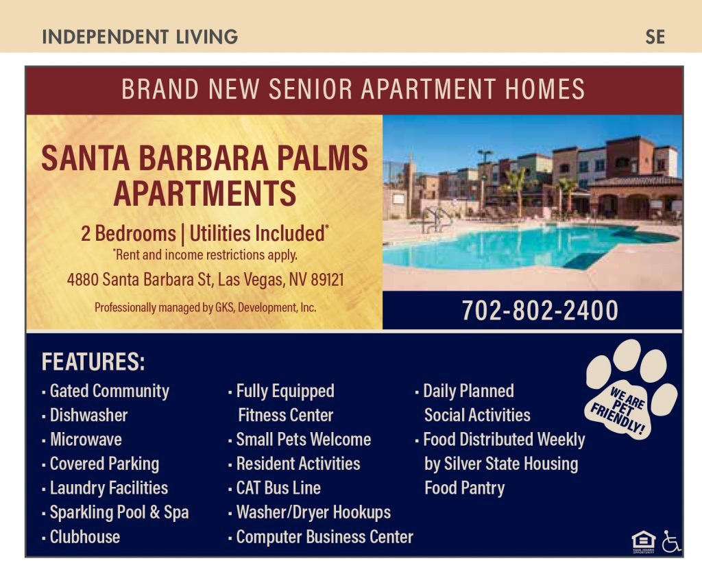 Apartments and Manufactured Homes : Nevada Senior Guide