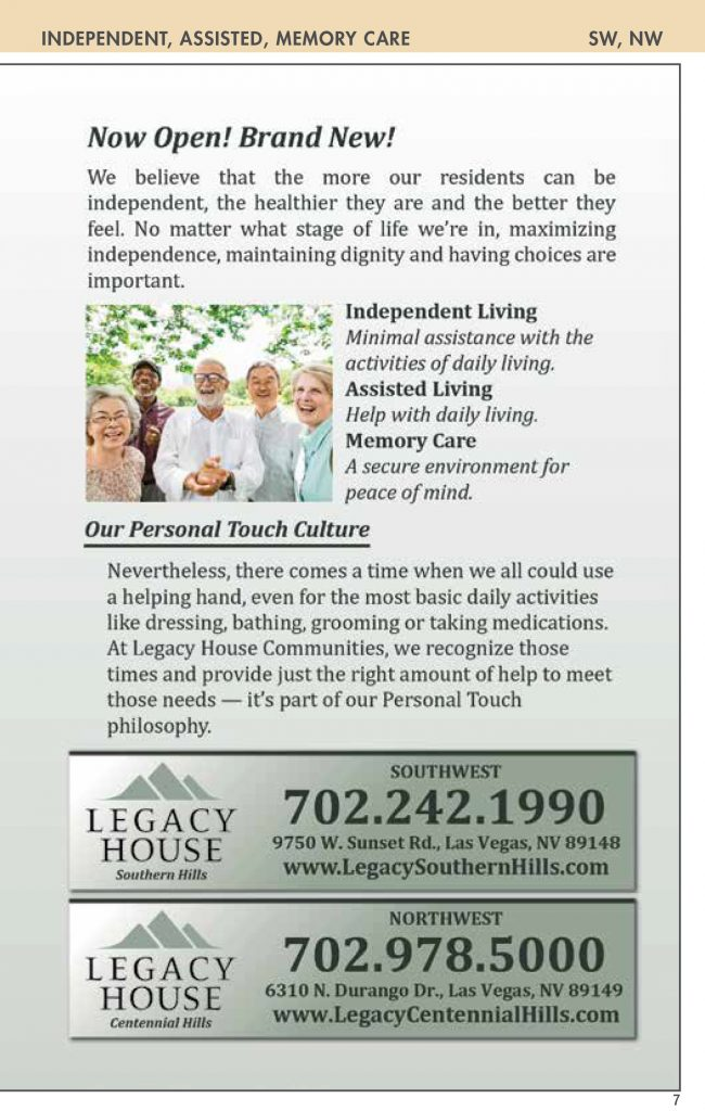 06031f9845 activities : Nevada Senior Guide