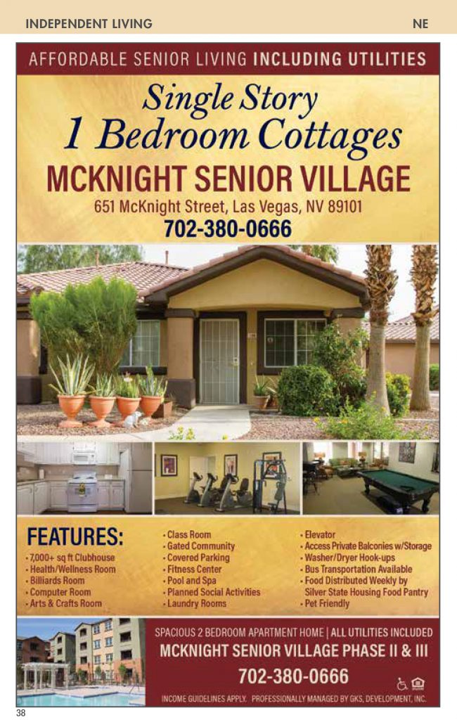 senior apartments : Nevada Senior Guide