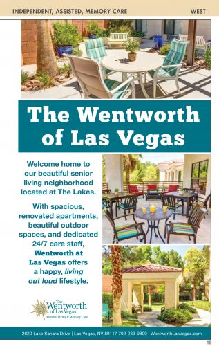 The Wentworth Of Las Vegas Assisted Living And Memory Care Nevada Senior Guide Nevada Senior Guide
